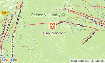 Mappa Peisey-Vallandry Appartamento 114723