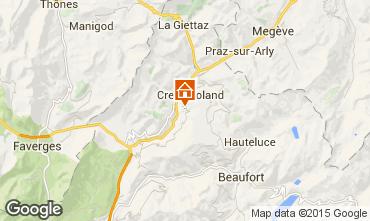 Mappa Crest Voland Cohennoz Monolocale 1124