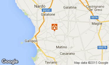 Mappa Gallipoli Villa  60986