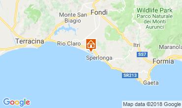 Mappa Sperlonga Villa  116100