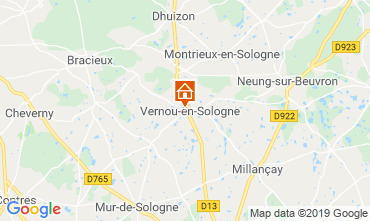 Mappa Chambord Agriturismo 119080