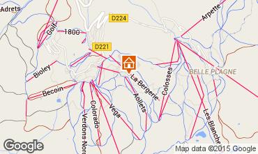 Mappa La Plagne Monolocale 74037