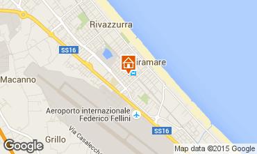 Mappa Rimini Appartamento 21770