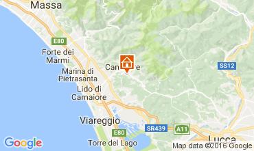 Mappa Camaiore Casa 107083