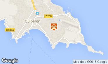 Mappa Quiberon Appartamento 55055