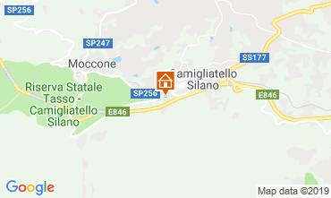 Mappa Camigliatello silano Chalet 51597