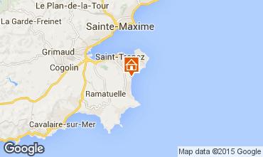 Mappa Saint Tropez Casa mobile 80923