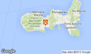 Mappa Campo nell'Elba Appartamento 95820