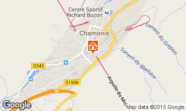 Mappa Chamonix Mont-Blanc (Monte Bianco) Monolocale 67211