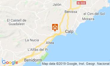Mappa Altea Villa  118294