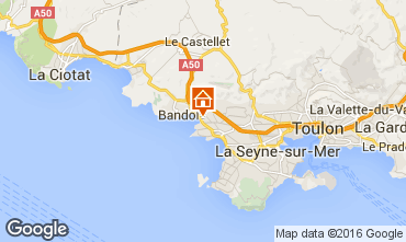 Mappa Sanary Casa 8643