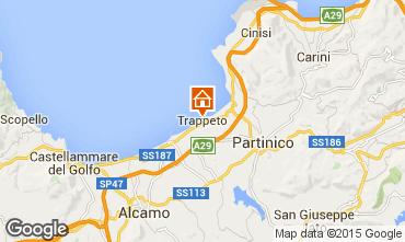 Mappa Trappeto Villa  81909