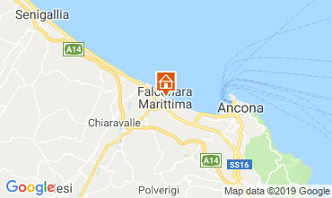 Mappa Falconara Marittima Appartamento 117905