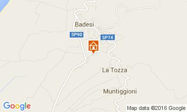 Mappa Badesi Appartamento 80778