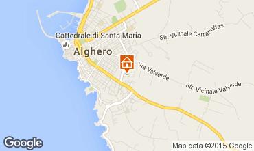 Mappa Alghero Appartamento 69224
