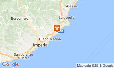 Mappa Cervo Appartamento 113776