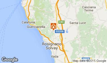 Mappa Castiglioncello Appartamento 96711