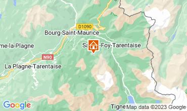 Mappa Les Arcs Appartamento 124