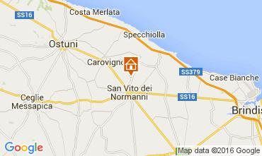 Mappa Ostuni Villa  104301