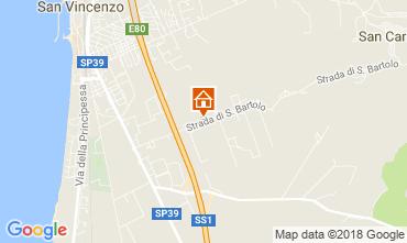 Mappa San Vincenzo Appartamento 113868