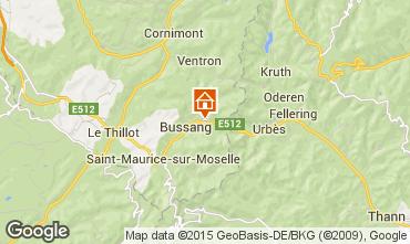 Mappa La Bresse Hohneck Agriturismo 4796