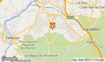 Mappa Saint Rémy de Provence Casa 60699
