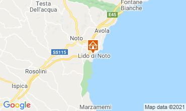 Mappa Noto Villa  73068