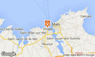Mappa Dinard Casa 40508