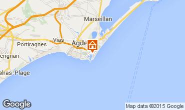 Mappa Cap d'Agde Appartamento 77082