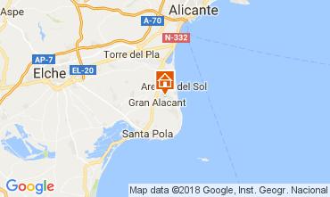 Mappa Alicante Casa 112965