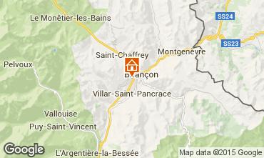 Mappa Briançon Monolocale 82889