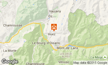 Mappa Alpe d'Huez Appartamento 104