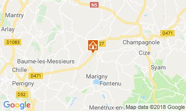 Mappa Champagnole Chalet 117172