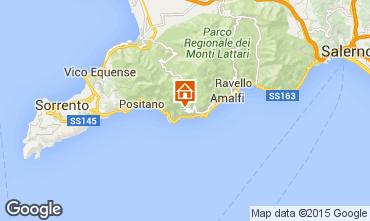 Mappa Amalfi Villa  71759