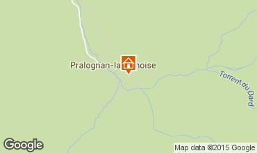 Mappa Pralognan la Vanoise Casa 81037