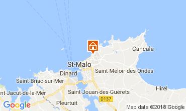 Mappa Saint Malo Appartamento 113374
