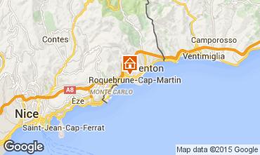Mappa Menton (Mentone) Casa 51896