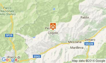 Mappa Peio (Pejo) Appartamento 105628