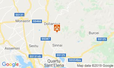 Mappa Quartu Sant'Elena Villa  108795