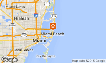 Mappa South Beach Monolocale 5333