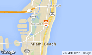Mappa South Beach Monolocale 5333