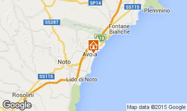 Mappa Avola Monolocale 99107