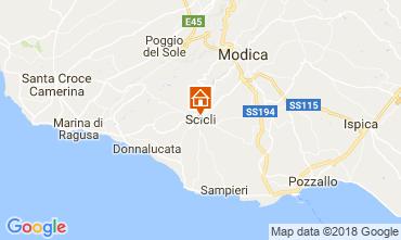 Mappa Scicli Appartamento 115140