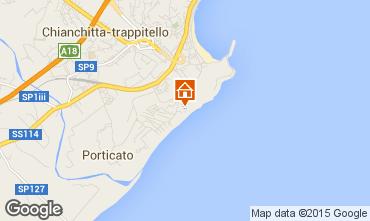 Mappa Taormina Appartamento 88869