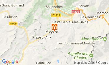 Mappa Megève Appartamento 111916