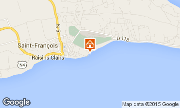 Mappa Saint Francois Appartamento 68788