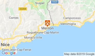 Mappa Menton (Mentone) Monolocale 118636