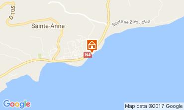 Mappa Sainte Anne (Guadalupa) Appartamento 108495