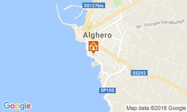 Mappa Alghero Appartamento 114227