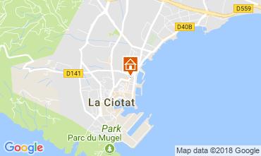 Mappa La Ciotat Appartamento 103352